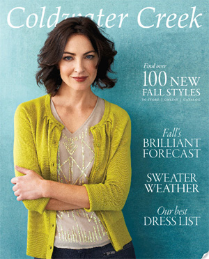 Coldwater Creek Catalog
