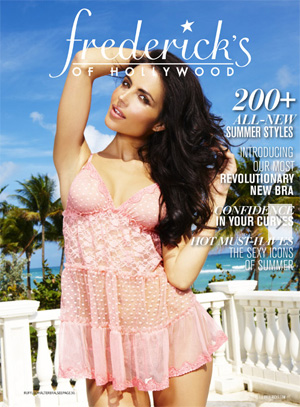 Fredericks of Hollywood Catalog