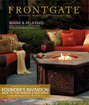 Frontgate Catalog