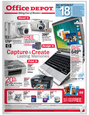 Office Depot Catalog Laptops Pc Printers