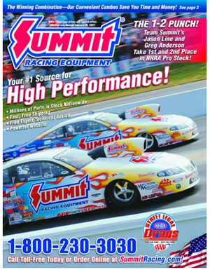Flatlander Racing Auto Parts Links on Summit Racing Catalog